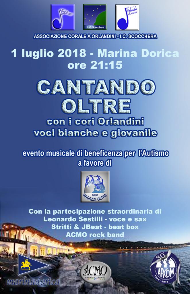 2018-7-1 Cantando Oltre Locandina