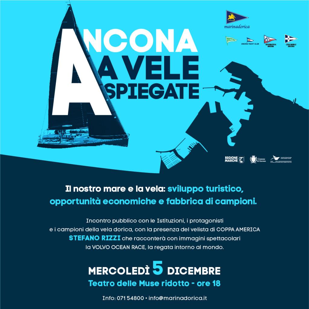Invito Ancona a vela spiegate